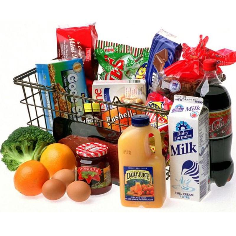 Grocery & restaurants